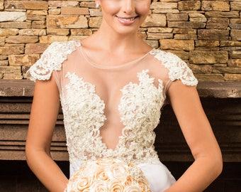 Garofano- Alicia Jewelry Bouquet- Brooch Bouquet