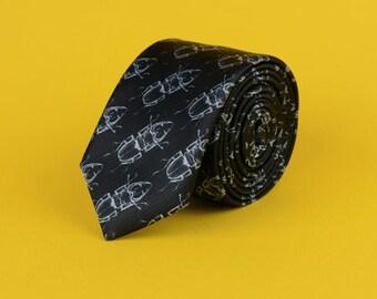 TIE OR DIE Stag Beetle necktie