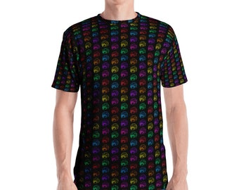 Rainbow Brains Men's T-shirt