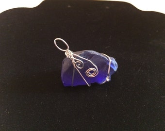Free-form Wire Wrapped Glass