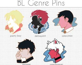 BL Genre Enamel Pins