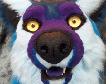 Custom Fursuit Eyes, Resin, One pair of follow-me 3D acrylic eyes for jewelry, costumes, Furry costumes and more!