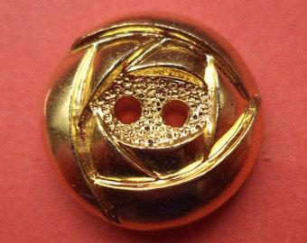 10 buttons Golden 15 mm 18 mm (787 1407) button