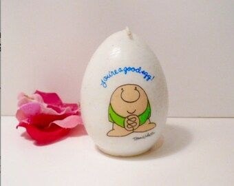 Ziggy Candle Tom Wilson Collectible Egg Shaped Candle Collectible by VintageReinvented