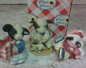 Mary Moo moos figurines