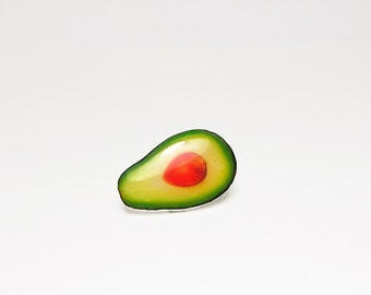 Avocado pin Avocado Jewery Avocado brooch