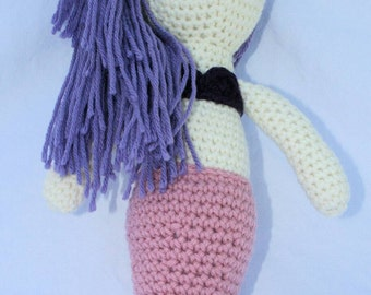 Mermaid, crochet mermaid, amigurumi doll, stuffed mermaid, birthday gift, mermaid plush toy, crochet mermaid toy, mermaid doll, mermaid toy