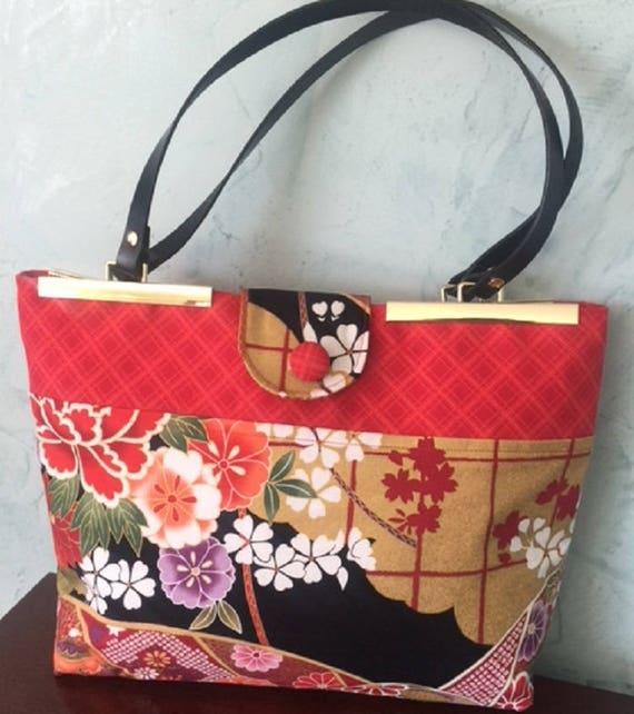 Peony Garden Bag