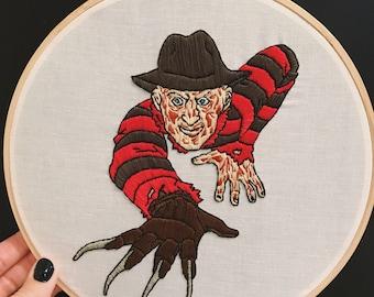 """Freddy Krueger - 9"""" Hoop"""