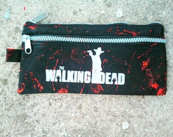 trousse / pochette the walking dead Amc geek serie tv  zombie