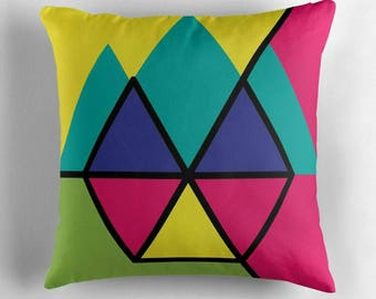Hexagon © hatgirl.de |  Living room cushion with cover