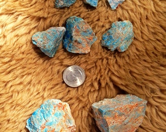 Apatite rough stones (3 sizes)