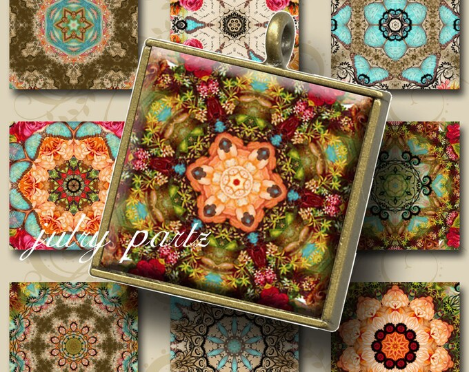 MOROCCO Mix 1x1 Tiles, Printable Digital Images, Cards, Gift Tags, Scrabble Tiles, Magnets