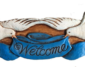 Dove Welcome Door Topper