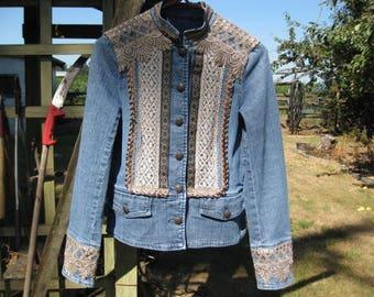 Embellished Jean Jacket JJ103