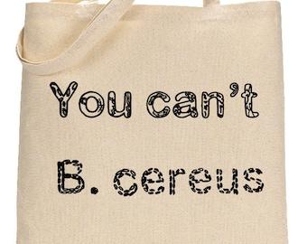 Microbiology Gift, Shoulder Bag Pun for Doctors, Medical School Gift, Physician Bag, Doctor Totebag