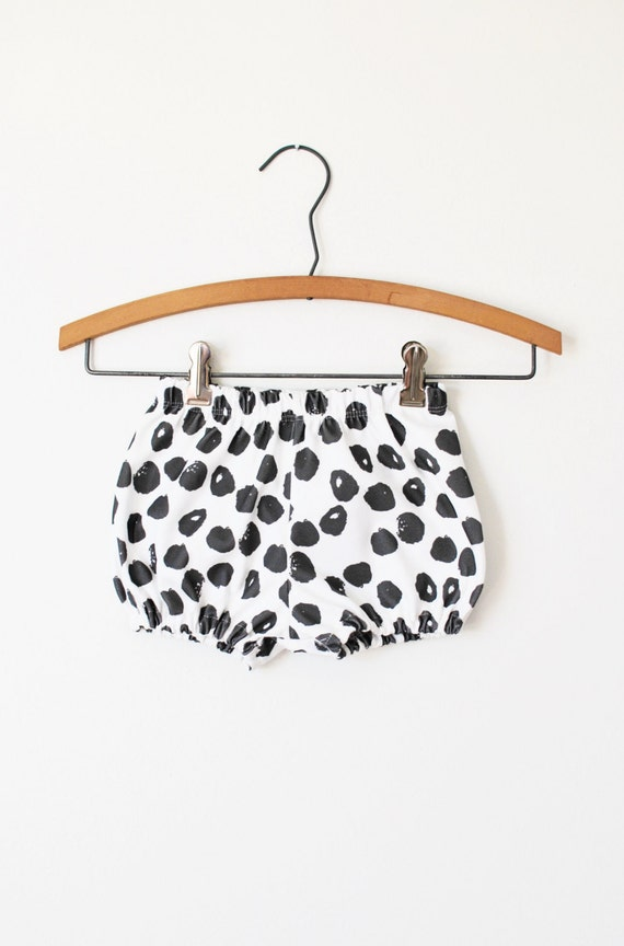 organic baby bloomers in ink spots baby bloomers baby