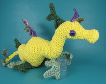 Sea Dragon - PDF amigurumi crochet pattern