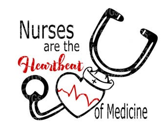 SVG Cute Enough to Stop Your Heart Nurse Quote EMT Quote