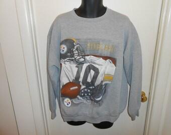 90s Pittsburgh Steelers Crewneck Sweatshirt Sz XL