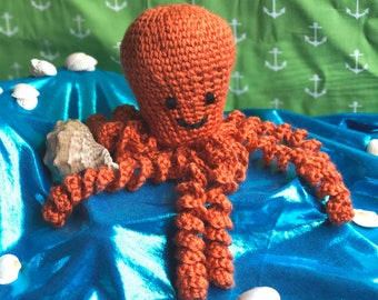 Crochet Octopus | Preemie Octopus | Amigurumi Plush | Octopus Toy | Octopus Doll | Octopus Amigurumi | Crochet Animals | Made to Order