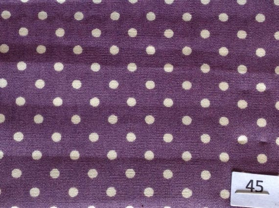 High quality cotton poplin printed in Japan, 3mm polka dots no45