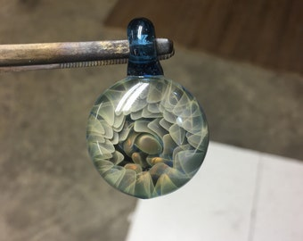 Fumed Implosion Pendant