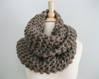 Infinity Cowl Chunky Knit, Cowl Scarf, Chunky Knit Scarf Claire, Knit Cowl, Claire Cowl