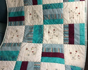 Traditonal Patchwork Lap/Baby Quilt