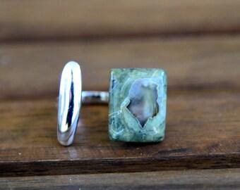 Rhyolite Ring - Size: 8.5