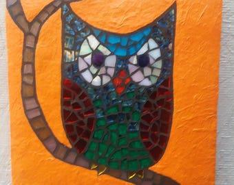 "Summer Owl 8×8×1"""