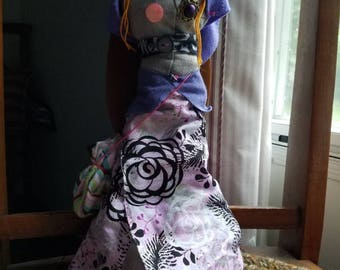 Rose the Colonial-Inspired Rag Doll