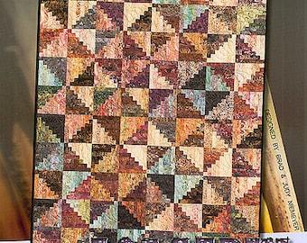 Split Log Cabin Foundation Paper Piecing Pattern