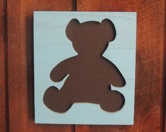 Teddybear Chalkboard