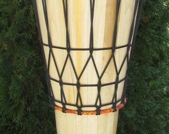 "Hand-made 12"" Poplar Ashiko Drum"
