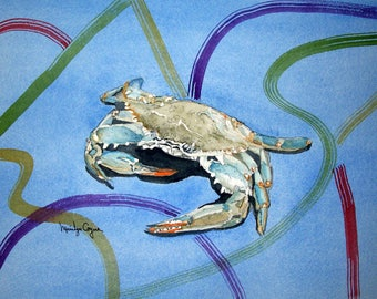 Crab abstract