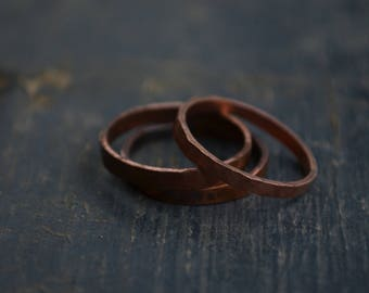 Stackable Copper Ring
