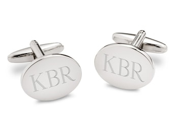 Personalized Cufflinks, Groomsmen Gift, Wedding Gift, Custom Cufflinks, Engraved Cufflinks, Gift for Him, Father's Day Gift, GC1369