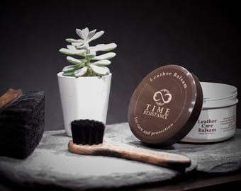 Leather Care Balsam/Care Balm/Leather Care Balm/Leather Protection - Time Resistance Natural Leather Care Balsam