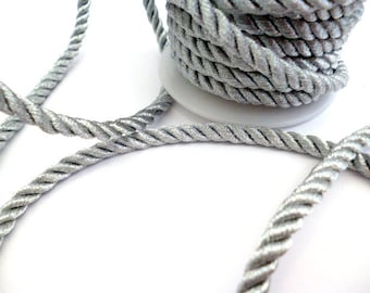 6 mm Silver Braided Fabric Cord_ PP0011478214_Cords_ Silver Braided_of 6 mm_ 1 meters_3,28 ft