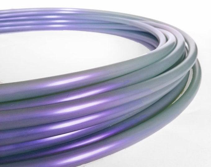 Smokey Quartz 5/8 Polypro Hula Hoop// Customizable//Super Light Weight//Trick Hoop//Dance Hoop