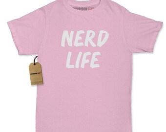 Nerd Life Nerd Living Womens T-shirt