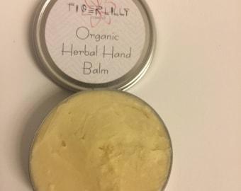Organic Herbal Hand Balm
