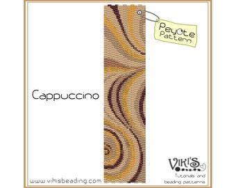Cappuccino: Peyote Pattern - INSTANT DOWNLOAD pdf - New coupon codes