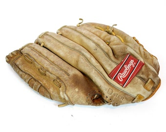 Vintage Retro Rawlings Baseball Glove