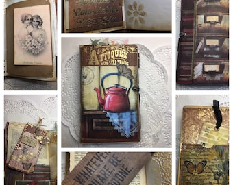 Antique Vintage Junk Journal
