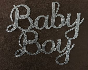 Cake topper - Baby boy - Baby Shower