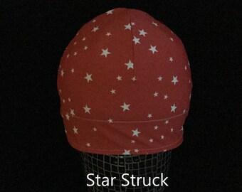 """Helmet Liner/Running Cap/Ski Cap  - """"Star Struck"""""""