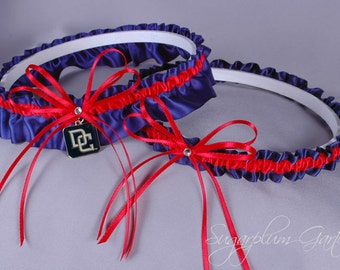 Washington Nationals Wedding Garter Set