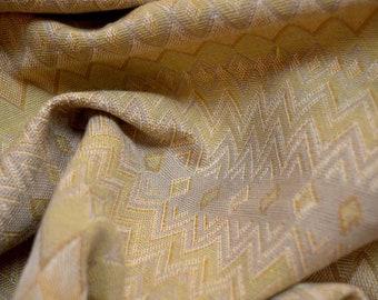 Gold Tan Keystone Fabric